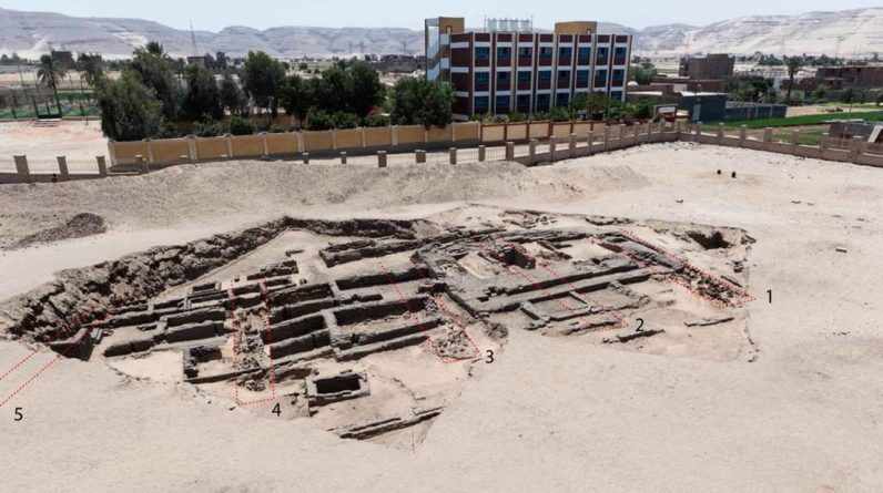 The remains of a 5,000-year-old brewery found in Egypt    Currently