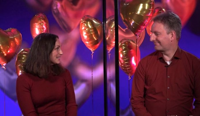 Mirjana Van Raiden and Chronicle of Enrico in First Dates Valentine's Special.