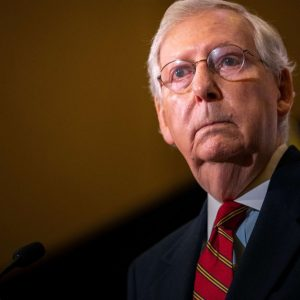 Republican political battle rages: Trump declares war on McConnell