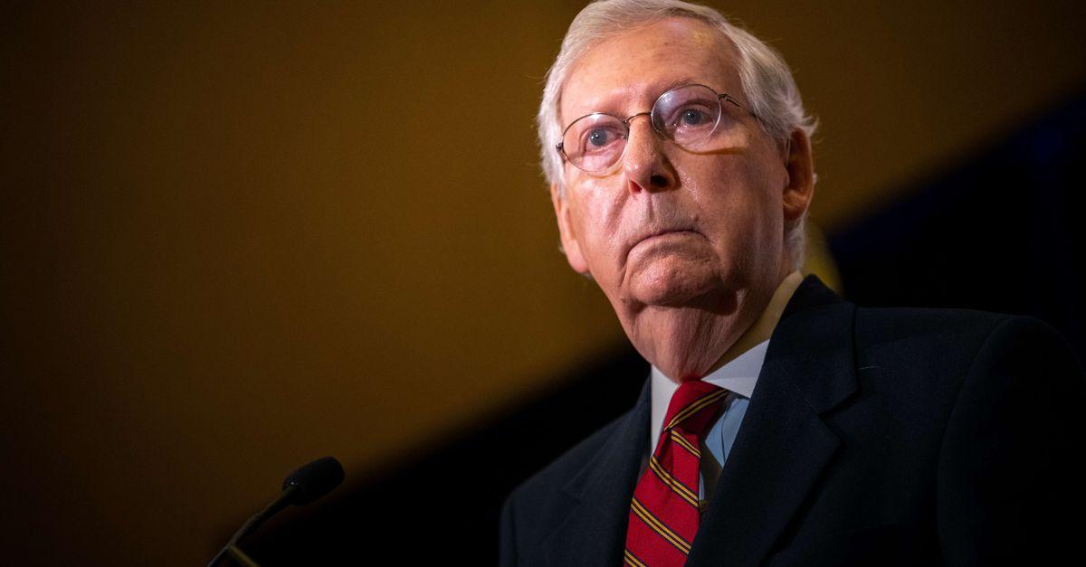Republican political battle rages: Trump declares war on McConnell