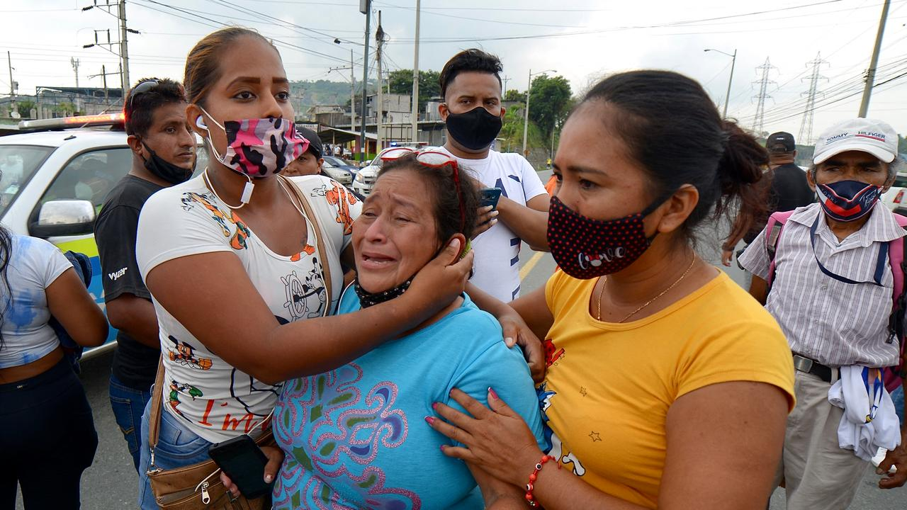 At least 67 killed in gang violence in Ecuador's prisons |  Currently
