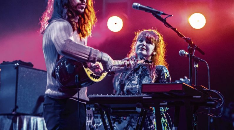 Aldin Cohn's singer is happily behind the synthesizer instead of touring in the US