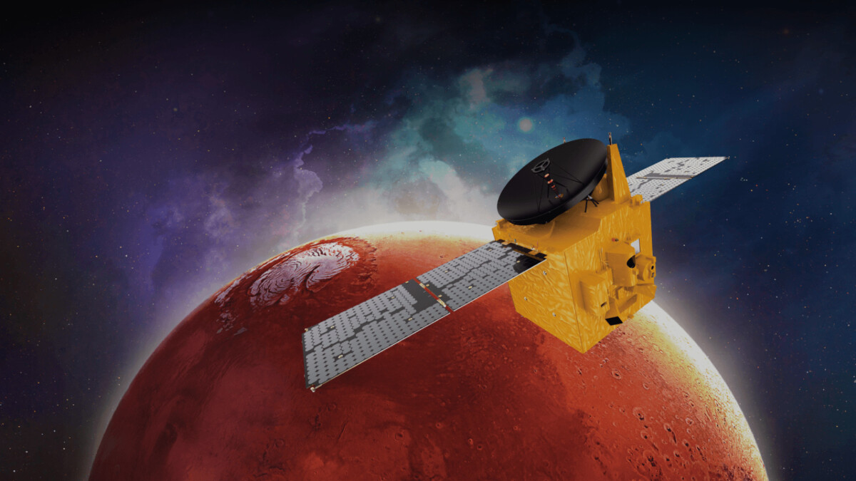 Arabs now also have a probe orbiting Mars