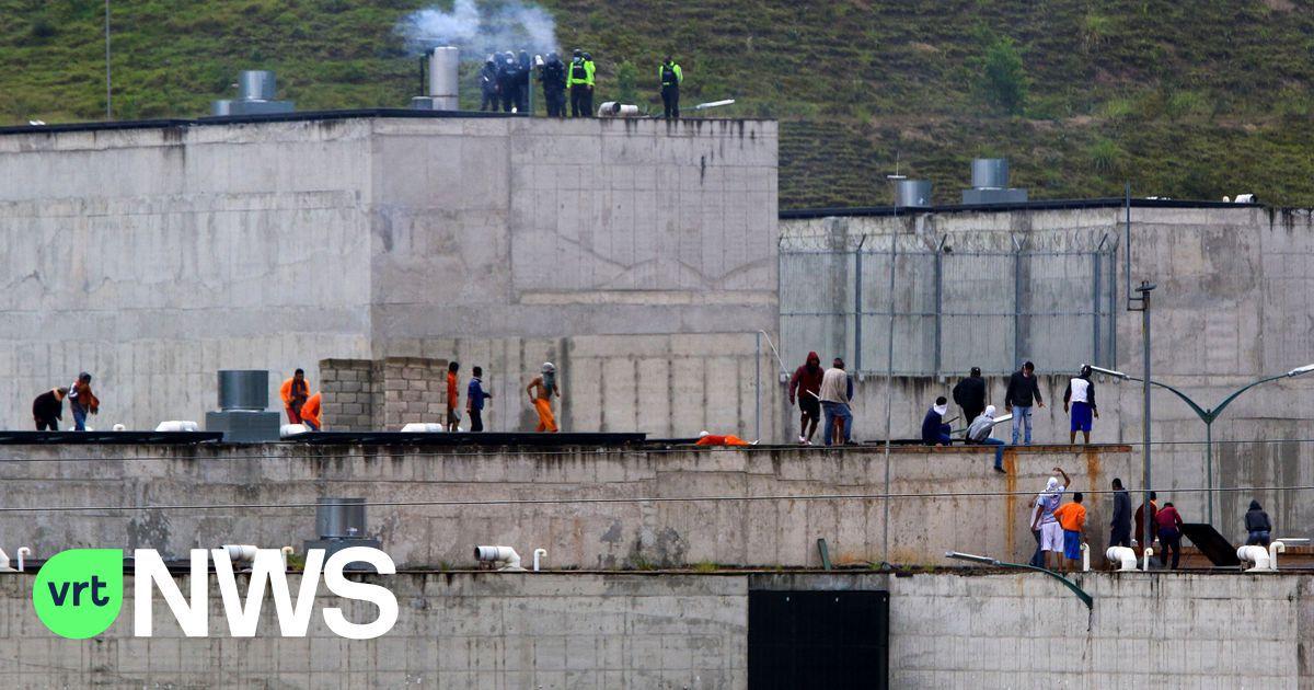 At least 75 prisoners die in clashes between rival drug gangs in 3 prisons in Ecuador
