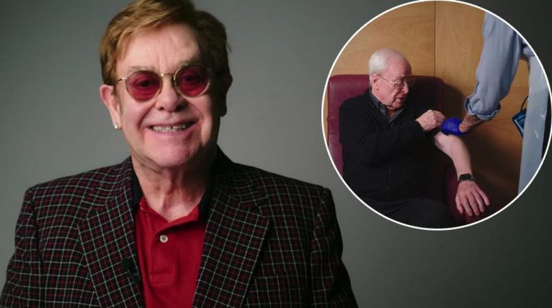 British humor: Elton John and Michael Kane promote vaccination |  entertainment