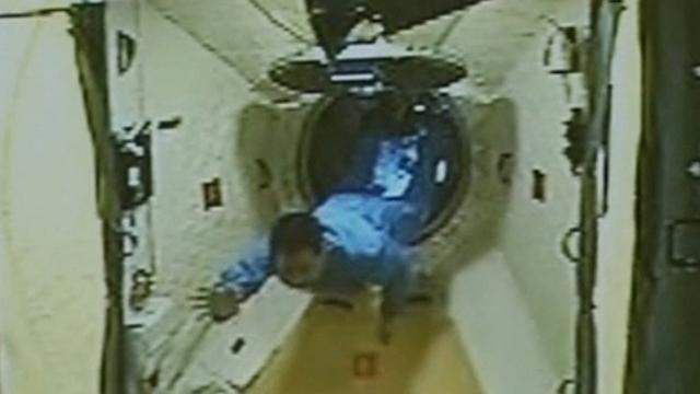 Chinese astronaut Nie Haisheng entered Tiangong-1 in 2013.