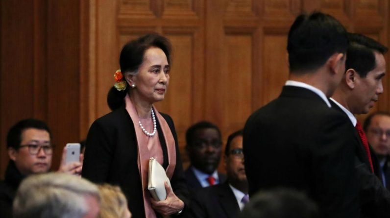 Imprisoned Myanmar leader will appear in court on Wednesday |  Currently