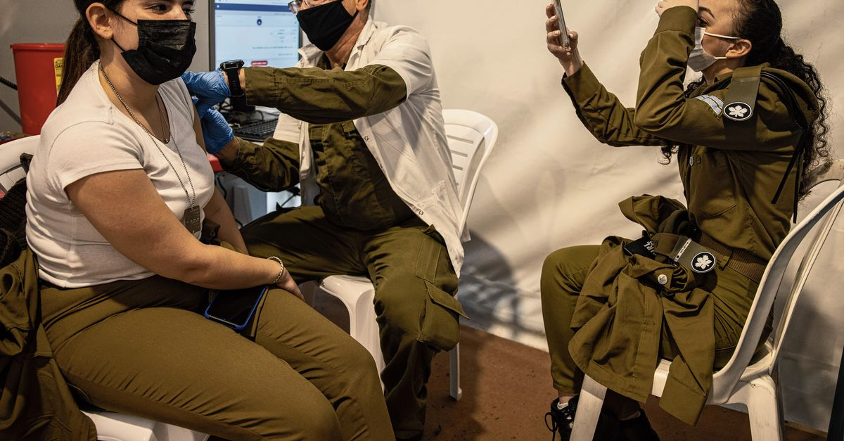 Israel continues vaccination, which raises new dilemmas
