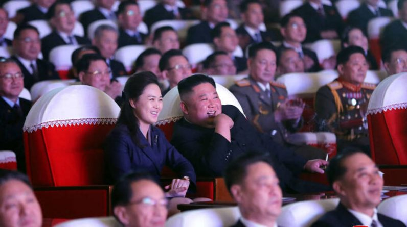 Kim Jong Un's wife was spotted again for the first time in a year