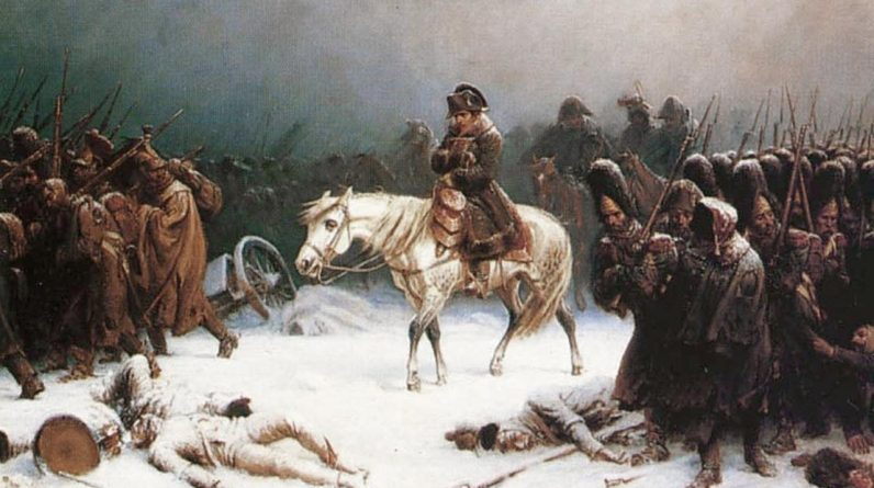 Reburial of 120 Russian and French soldiers from the Napoleonic campaign |  Currently