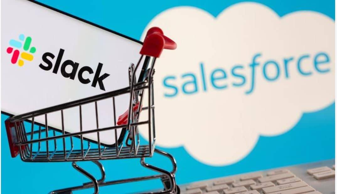Amerika wil overname van Slack door Salesforce nader bekijken