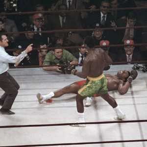 "3/8/1971, Ali-Frasier Fight of the Century: ""Black America vs. White America"" ​​