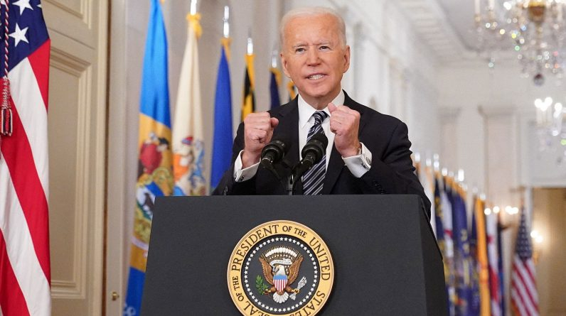 Biden: Vaccinate everyone on May 1st