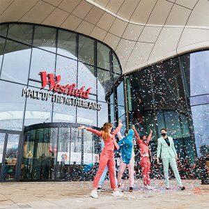 Volledig digitaal Ocean netwerk lives in Westfield Mall in the Netherlands and Westfield Mall in the Netherlands