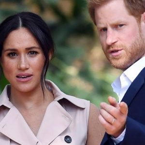 An intruder invades Prince Harry and Meghan Markle's villa