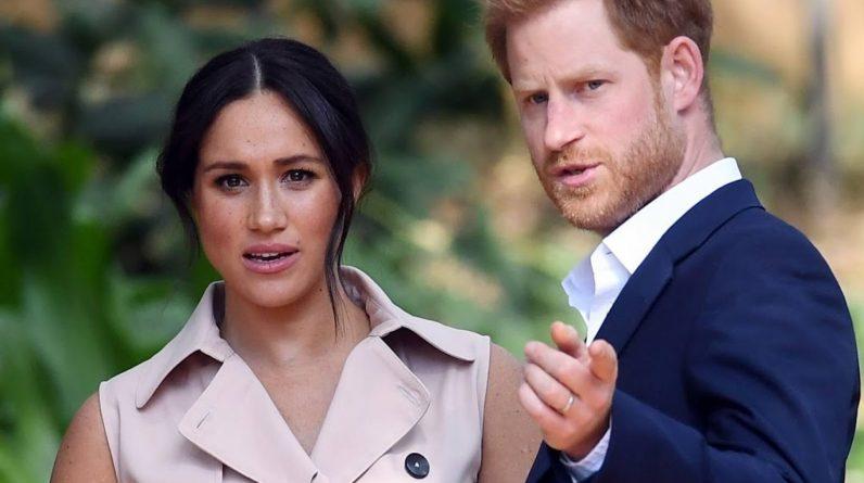 An intruder invades Prince Harry and Meghan Markle's villa