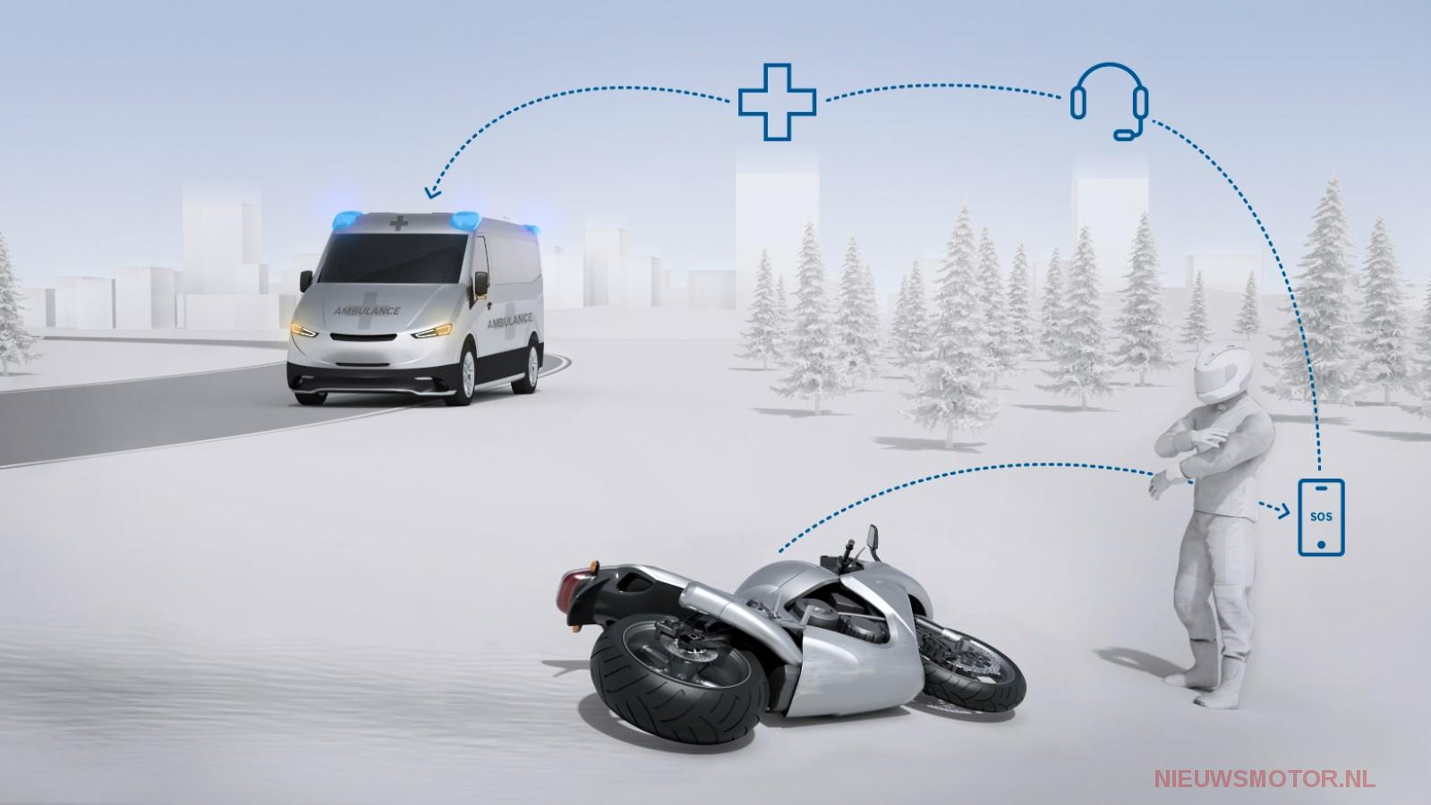 Bosch assistance delivery service: after an emergency email call to an accident via your smartphone - the news engine
