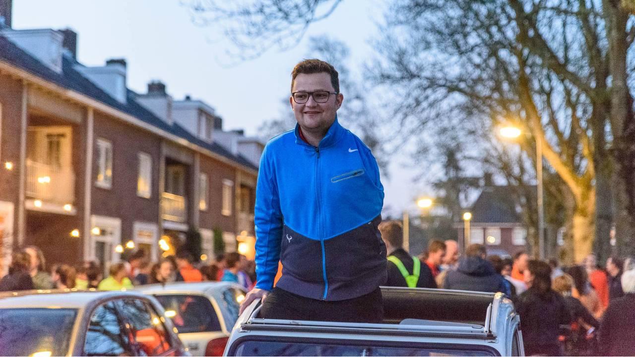 Thijs voorafgaand aan de RoadToSurgery in 2017. (Foto: Tom van der Put / SQ Vision)