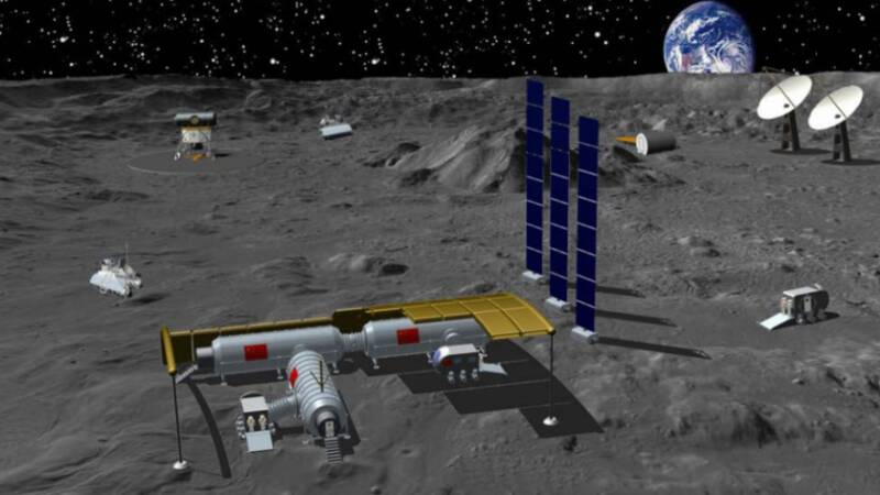 China and Russia want a base on the moon: start a new space race?