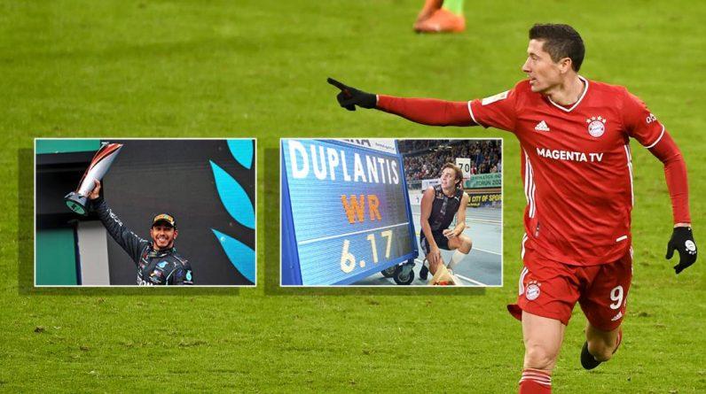 European news agencies choose Lewandowski over Lewis Hamilton |  Other sports