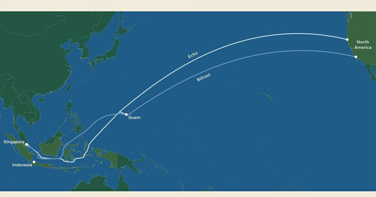 """Facebook plans 2 submarine cables between North America and Southeast Asia: """"70 percent faster internet"""""""