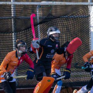 Goalkeeper Sarah Sink of Orange-Road has recklessly fled America |  Hockey