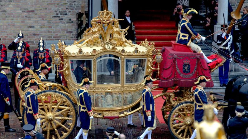 Golden Coach exhibited at the Amsterdam Museum from 18 June |  Currently
