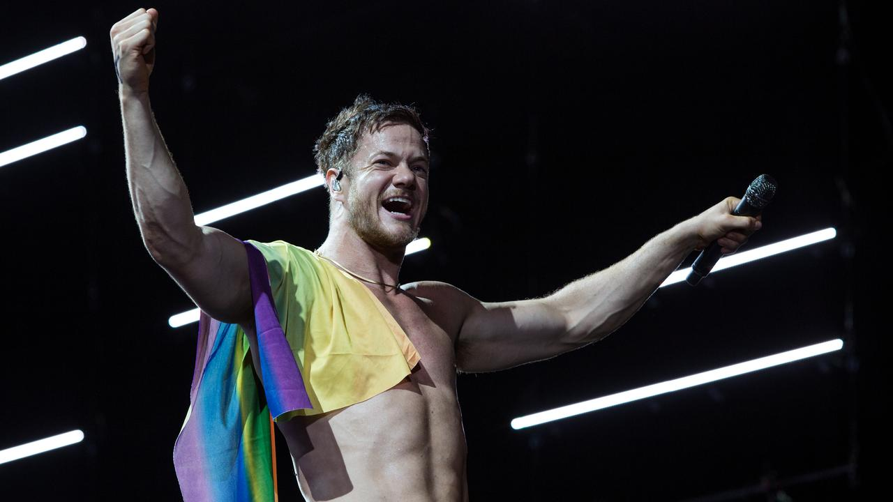Imagine Dragons singer Dan Reynolds marriage text    Currently