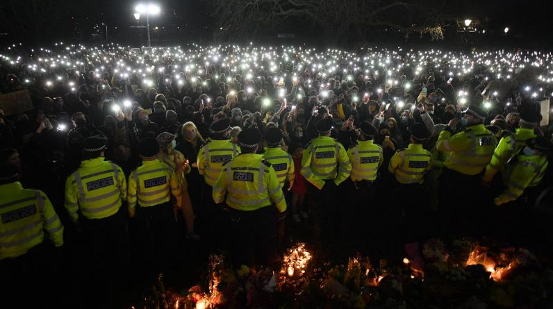 Johnson wants police enforcement vigil investigation Sarah Everard |  Currently