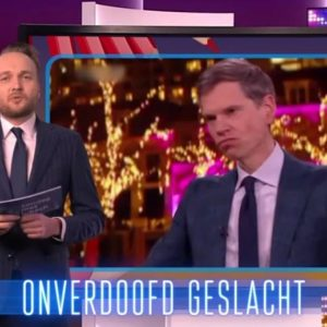 "Lubach records with rapping: ""Don't go to Nieuwsuur, it will cost you ten seats"" 