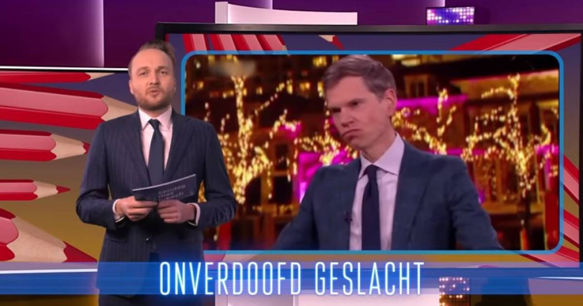"""Lubach records with rapping: """"Don't go to Nieuwsuur, it will cost you ten seats"""" 