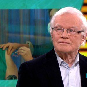 Voorzitter Leo Bisschops van de KBO maakt zich zorgen over de hoeveelheid ouderen die niet gevaccineerd zijn (foto:Omroep Brabant)