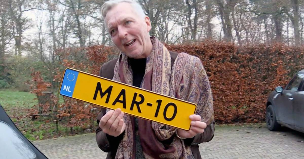 """Martien Meiland removes the car window with a license plate: """"He made such a big mistake"""" 