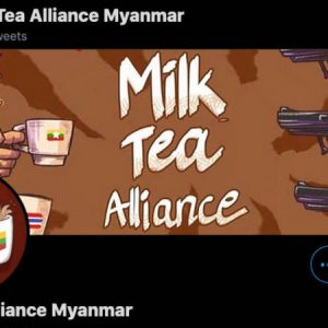 Milk tea against persecution in Myanmar