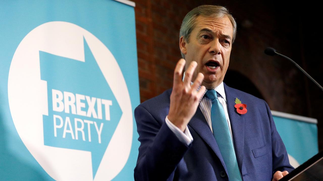 Nigel Farage, mock Brexit chief, leaves British politics |  Currently