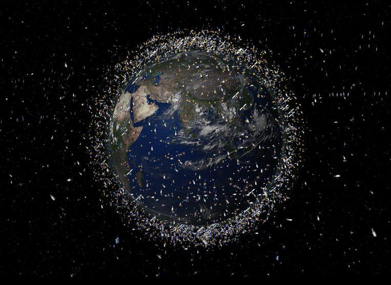 Space debris removal: A wheelie bin will do that