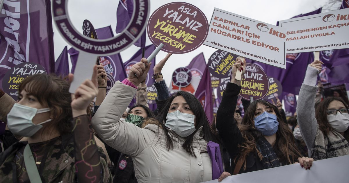 The European Union calls on Turkey to adhere to the Convention on the Rights of Women |  Abroad