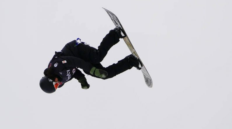 The Snowboarder Wolf took 14th place at the Aspen Cliff Style World Championships