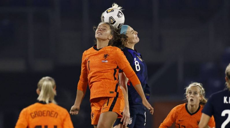 There is still a gap for the lionesses to close after defeating world champion VS    Dutch football