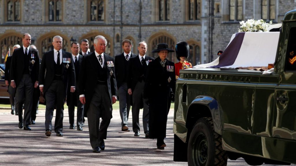 Prince Philip was buried in the crypt of Windsor Castle after a rigorous service |  right Now