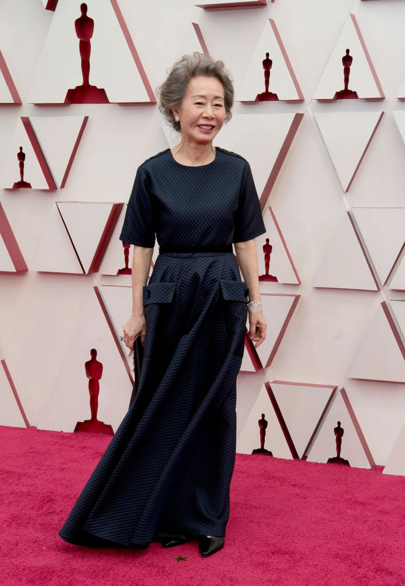 The Oscars red carpet was a happy return to personal events