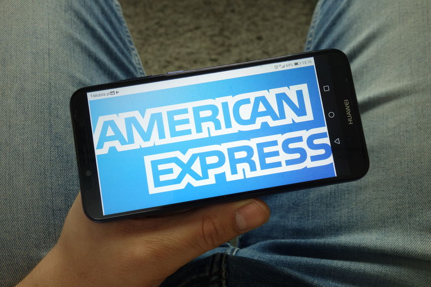 American Express sales were weaker than expected