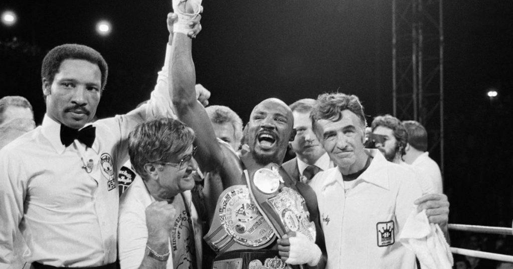 American boxing legend Marvin Hagler, 66, dies |  Martial arts