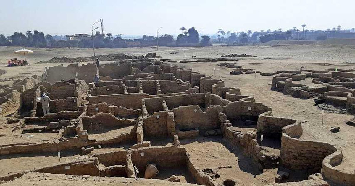 Archaeologists encounter an ancient city, from the time of the pharaohs, in Egypt |  Date