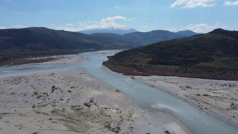 Battle for hydroelectricity in Albanian Vojsa River, 'the end of a unique ecosystem is imminent'