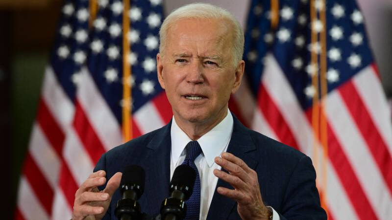 Biden comes with a billion package that the United States must win in the future