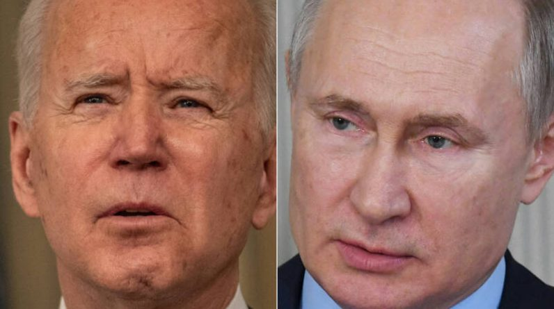 Biden contacts Putin about tensions along the border with Ukraine and proposes higher