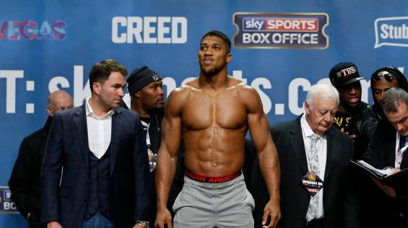 British promoter worried that the super clash between Fury and Joshua will fall into the water  Martial arts