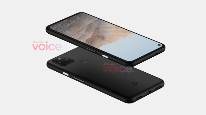 OnLeaks presenting rumor of Google Pixel 5a