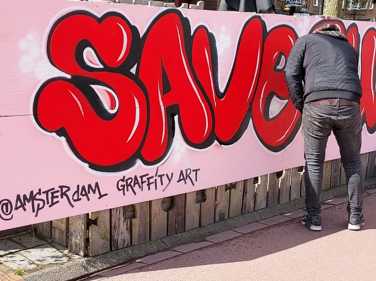 Graffiti action for the sick Ruby: 'She wants so badly to live independently'
